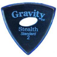 Pana chitara Gravity Picks Stealth Standard 2.0mm Master Elipse-Hole Blue