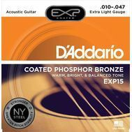 D'Addario EXP15 - Set Corzi Chitara Acustica - Music and More