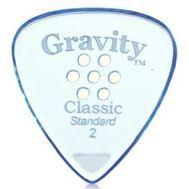 Pana chitara Gravity Picks Classic Standard 2.0mm Master Multi-Hole Blue, fig. 1
