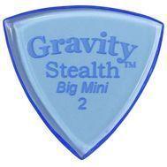 Pana chitara Gravity Picks Stealth Big Mini 2.0mm Polished Blue, fig. 1