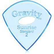 Pana chitara Gravity Picks Sunrise Standard 2.0mm Polished Elipse-Hole Blue, fig. 1