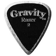 Pana chitara Gravity Picks Razer Standard 2.0mm Master Finish Silver
