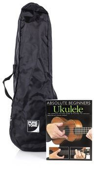 Set Ukulele Pure Tone Ukulele Surf Blue