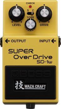 BOSS SD-1W Waza Craft - Pedala Overdrive