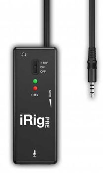 IK Multimedia iRig Pre - Interfata Audio Portabila IOS-Android