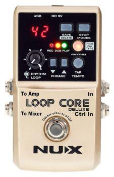 NUX Loop Core Deluxe Bundle - Set Pedala Looper - Music and More