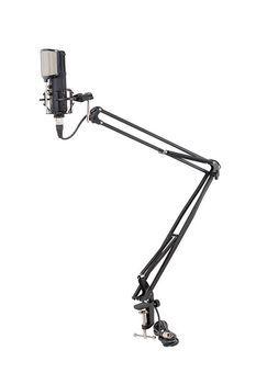 Soundsation ST-100M - Stativ Microfon de Masa cu Cablu XLR - Music and More