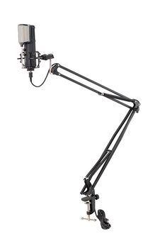 Soundsation ST-100U - Stativ Microfon de Masa cu Cablu USB - Music and More