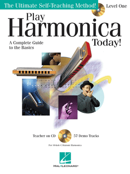 Metoda de muzicuta (include CD) Play Harmonica Today! - Level 1