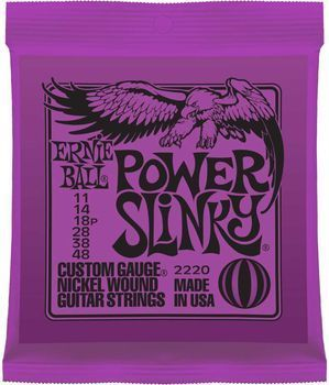 Ernie Ball Power Slinky 2220 - Set Corzi Chitara Electrica - Music and More