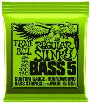Ernie Ball Regular Slinky Bass 5 2836 - Set Corzi Bass Electric - Music and More