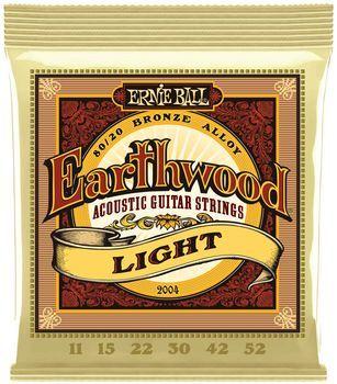 Ernie Ball Earthwood Light 80/20 Bronze 2004 - Set Corzi Chitara Acustica - Music and More