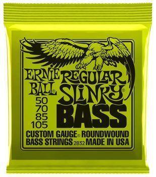 Ernie Ball Regular Slinky Bass 2832 - Set Corzi Bass Electric - Music and More