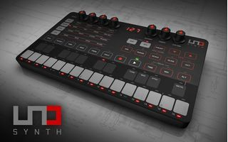 IK Multimedia lanseaza sintetizatorul UNO Synth true analog