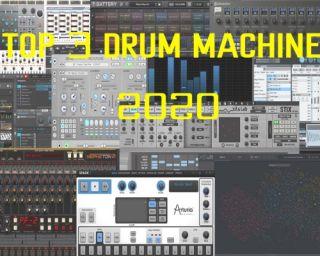 Top 3 Drum Machines in 2020, votate de MusicRadar