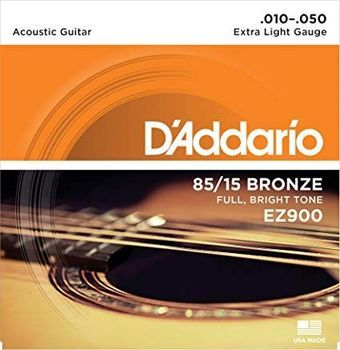D'Addario EZ900 - Set Corzi Chitara Acustica - Music and More
