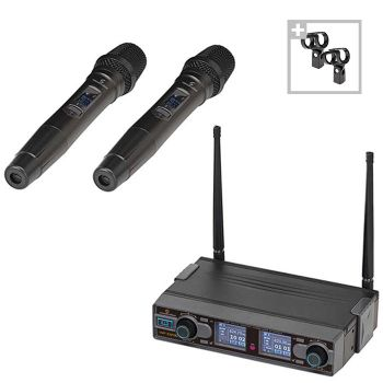 Soundsation WF-290HH - Set Microfoane Wireless
