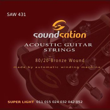 Soundsation SAW431 - Set Corzi Chitara Acustica - Music and More