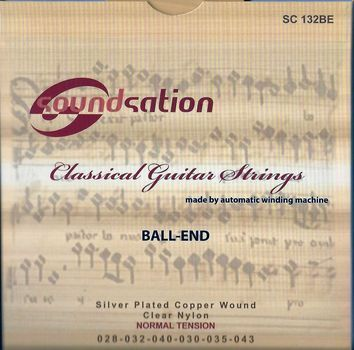 Soundsation SC132BE - Set Corzi Chitara Clasica - Music and More