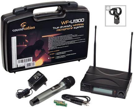 Soundsation WF-U1300H - Microfon Wireless - Music and More