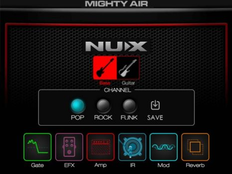 NUX Mighty Air - Amplificator Wireless Chitara Electrica/ Bass - Music and More