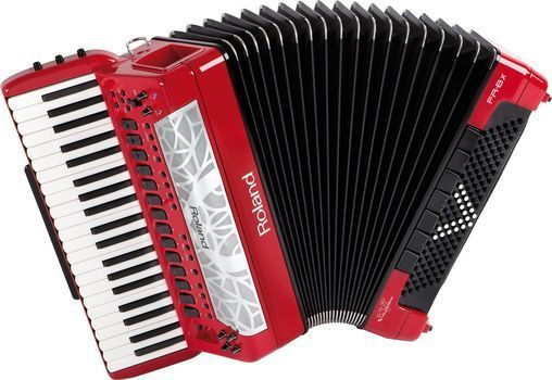 <label itemprop='name'>Roland FR-8X RD - Acordeon Electronic</label>, fig. 1