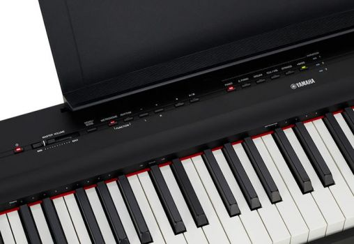 Yamaha P-125 BK - Pian Digital Portabil - Music and More