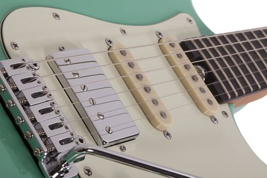 Schecter Nick Johnston Traditional HSS Atomic Green - Chitara Electrica - Music and More