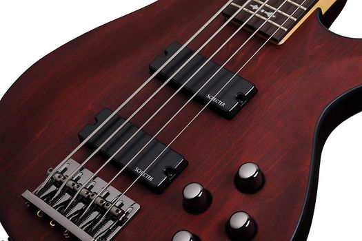 Schecter Omen-5 WSN - Chitara Bass Electric Activ - Music and More
