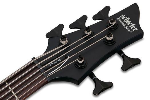 Schecter Stiletto Stealth-5 SBK - Chitara Bass Electric Activ - Music and More