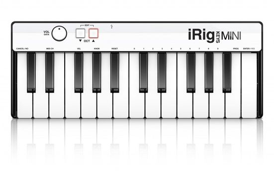 IK Multimedia iRig Keys Mini - Claviatura Midi - Music and More