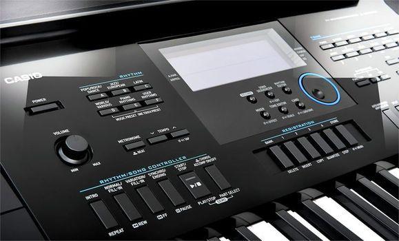 Casio CTK-6200 - Set Orga Electronica + Stativ + Bancheta + Casti - Music and More
