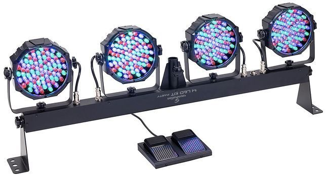 Soundsation 4LEDKIT PARTY - Set Proiectoare LED RGB