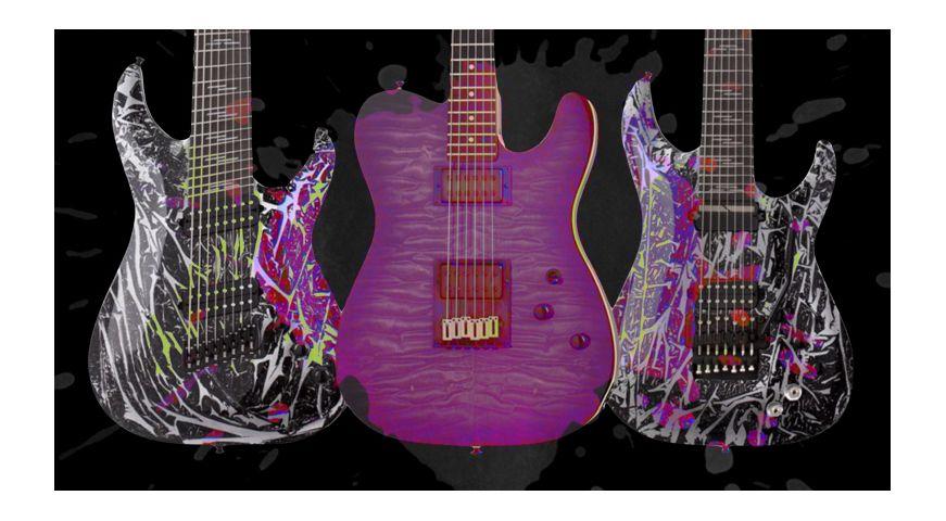 Modele noi de chitare Schecter in 2020 - Partea I