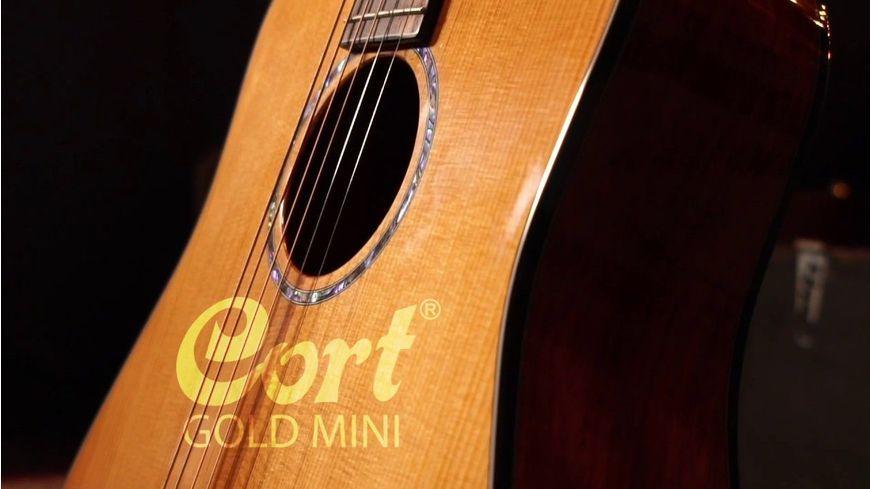 "Cort a lansat noul model de chitară acustică ""Gold Mini"" - Music and More"