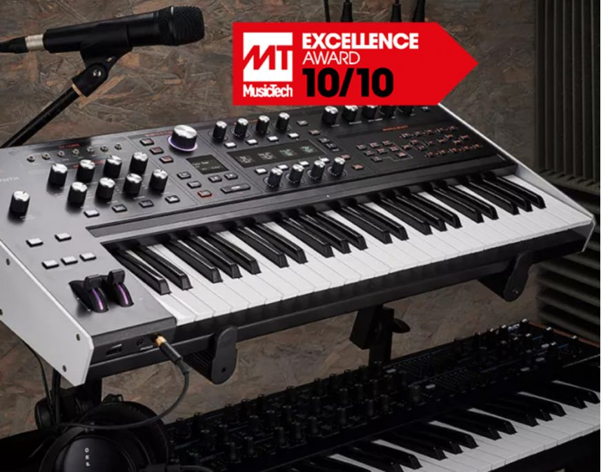 Sintetizatorul Hydrasynth - Excellence Award 10/10 Music Tech 2021