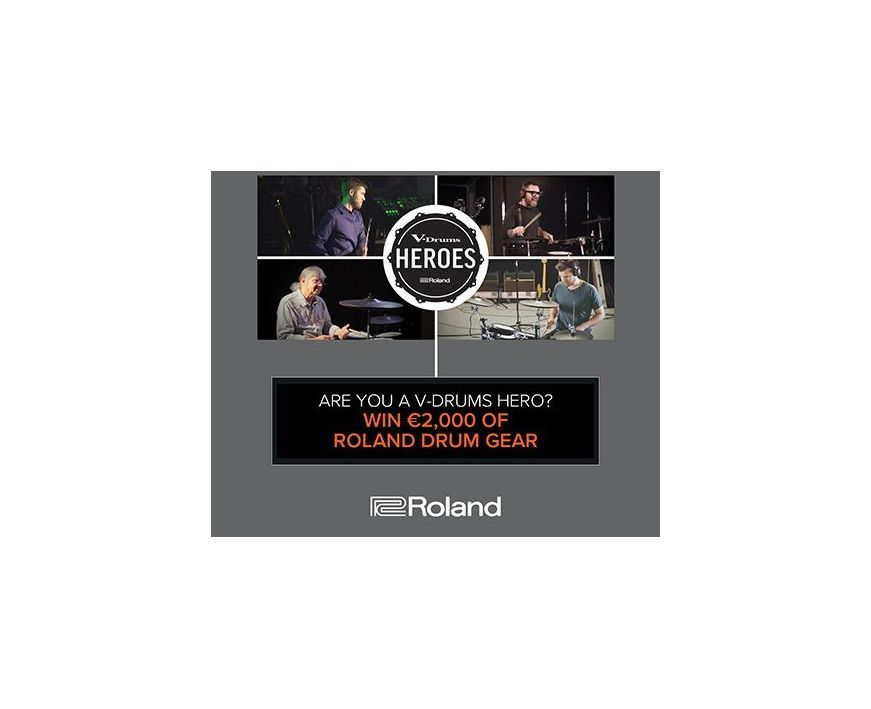 Roland V-Drums Heroes - Concurs Tobe Electronice Roland